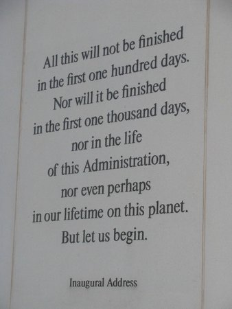 John F. Kennedy Presidential Museum & Library: Quotes