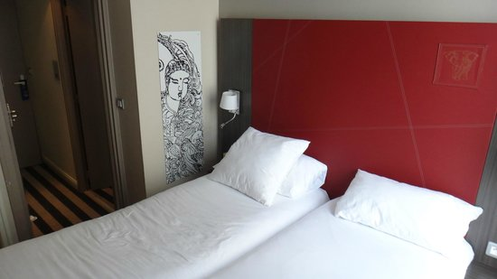 Hotel Ibis Styles Angers Centre Gare : Lits enfants