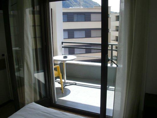 Hotel Besso: balconcino della camera