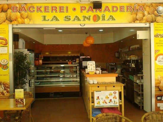 Delicious cakes! - Review of Backerei Sandia, Playa del