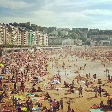 Playa de la Concha. San Sebastián.
