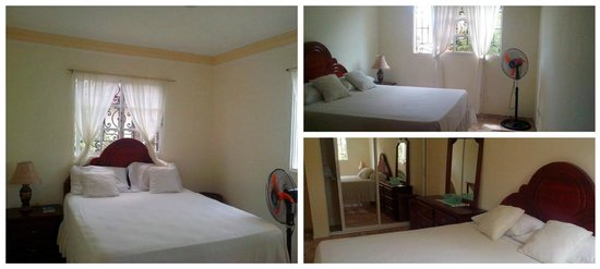 Miguelina's Guest House : Bedroom and closet