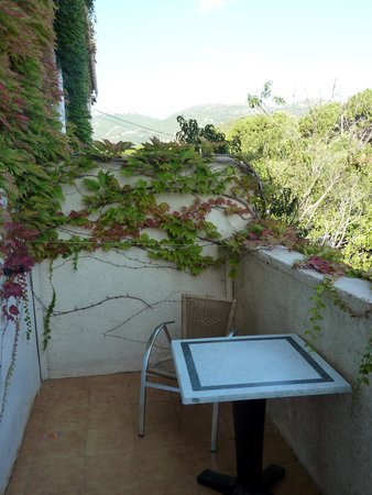 Best Western Hotel U Ricordu: notre balcon