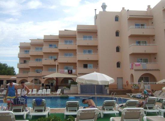 Aparthotel Rosamar: Lo bonito que es el hotel