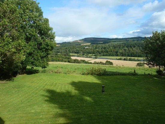 Claggan Farm Vegan B&B: That has been the look outside our room