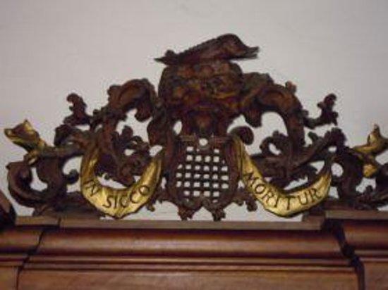 Abbazia di S.Maria di Praglia: Particolare del refettorio storico