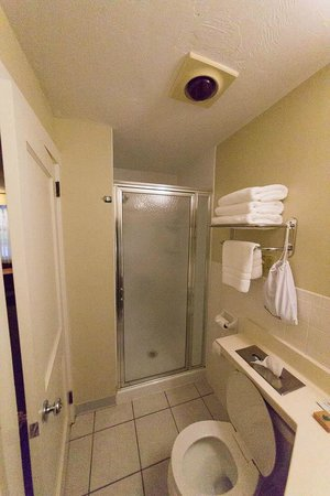 BEST WESTERN Plus Cold Spring: Bathroom (not no tub)