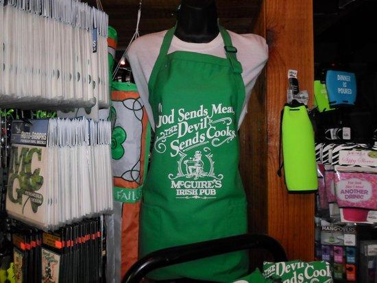 McGuire's Irish Pub : Great gift shop