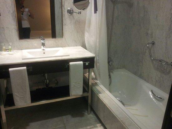 Hotel Nuevo Boston: La salle de bain