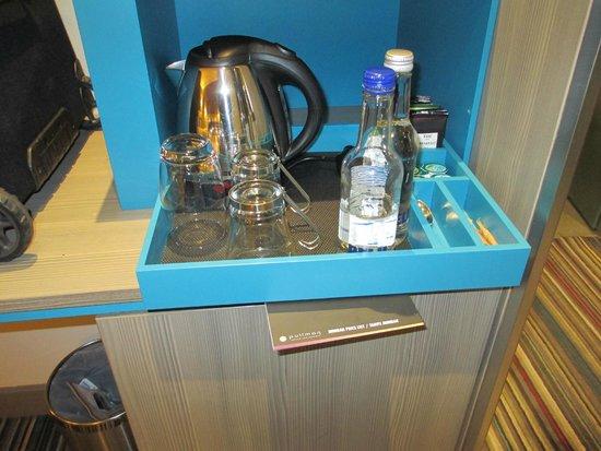 Pullman London St Pancras : Complimentary coffee/tea-making facilities