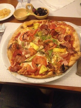 Pizzolino : My own pizza