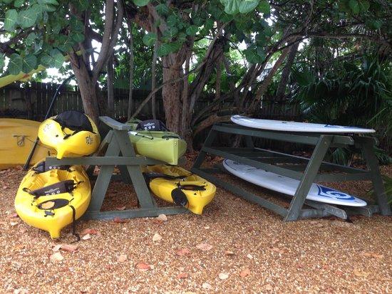 Casa Morada: Kayaks and Paddleboards