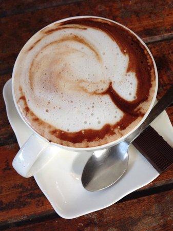 Caribeans Coffee & Chocolate : mocha