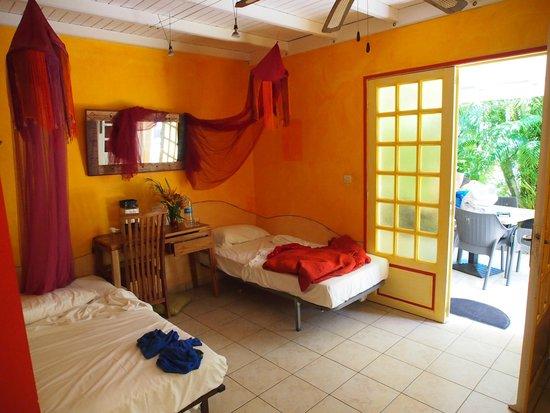 Caraib'Bay  Hotel: Vue chambre RDC