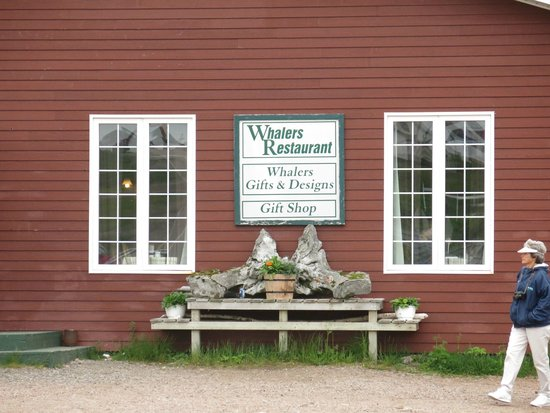 Whalers Restaurant: FRONT OF RESTAURANT