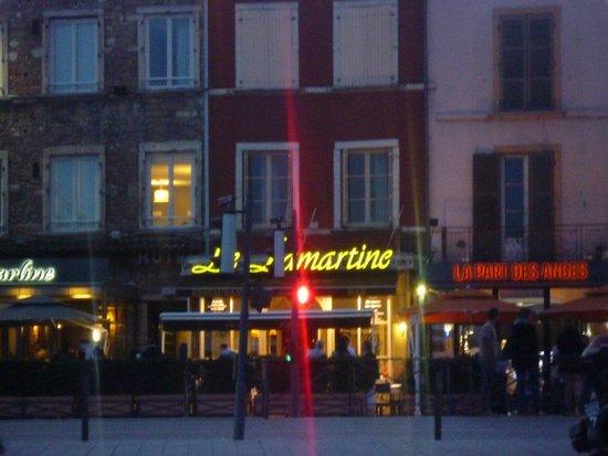Le Lamartine: Le devant du restaurant