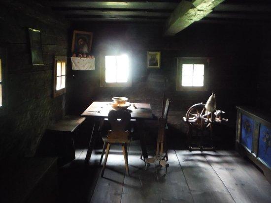 Österreichisches Freilichtmuseum Stübing: Room inside a house