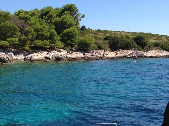 Hvar, Kroatia: Mostly gay nudist beach
