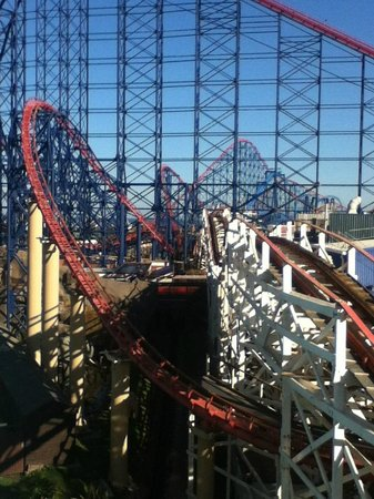 Blackpool Pleasure Beach: August 2014 - Much improved from earlier in the year