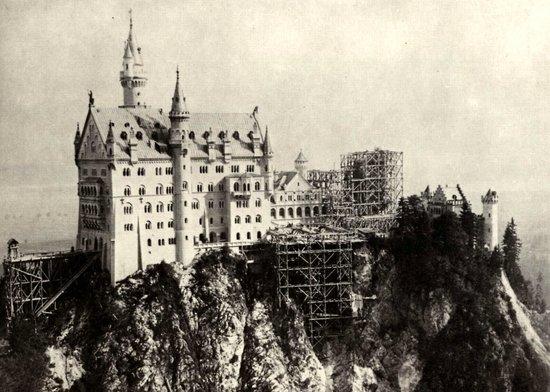 Castillo de Neuschwanstein: Under Construction