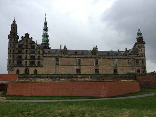 Kronborg Castle from the seaside