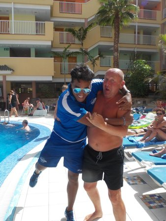 "Hotel Costa Caleta: Gabi such a funny guy ""water polo!!!"""