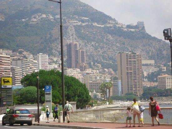 Monte Carlo Harbor: View from Monaco