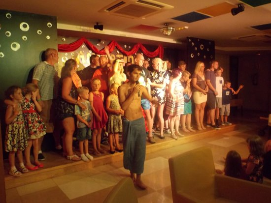 Hotel Costa Caleta : Everyone up on stage its club dance time!!!!