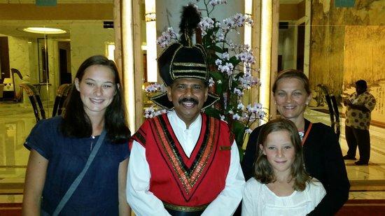 Shangri-La Hotel, Singapore : accueil de grande classe
