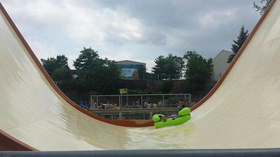 Black anaconda water coaster - photo#21