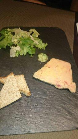 Le Coq d'Or: Foie gras 1 tranche 15 euros...... Passez
