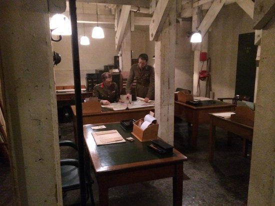 Churchill War Rooms: Fascinating