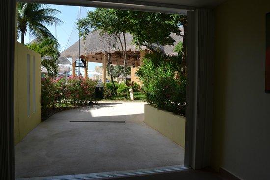 Viva Wyndham Maya: vista desde pasillo