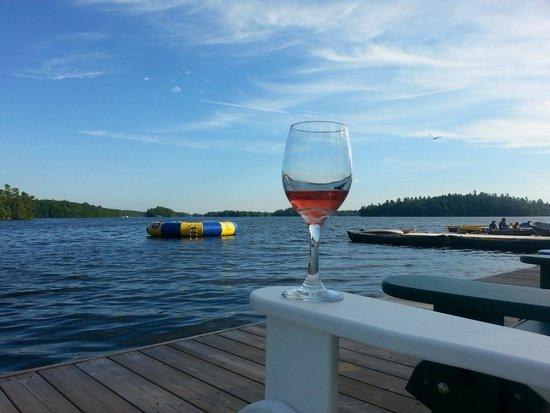 Severn Lodge: Cheers!