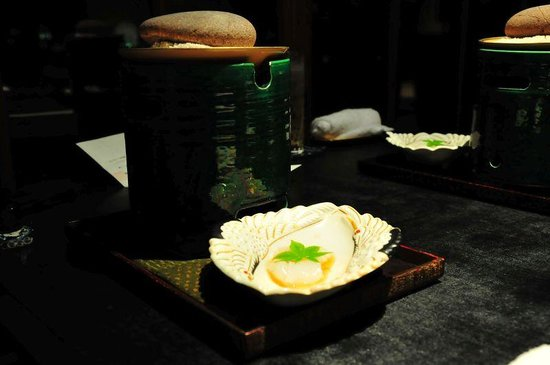 Hotel Ridge : 夕食の和食メニュー