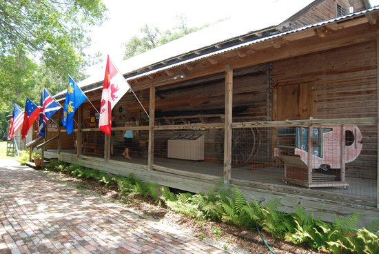 Micanopy Historical Society Museum : front entrance