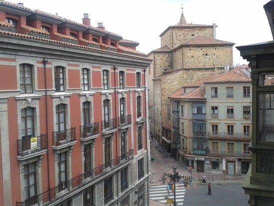 Hotel Fruela: Vista desde nuestro cuarto