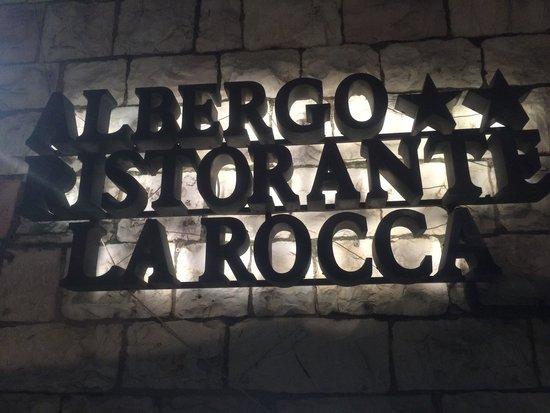 La Rocca Hotel: Quando vedete questa siete arrivati!!!