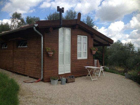 Campsite Rocca di Sotto: Blokhut, bungalow