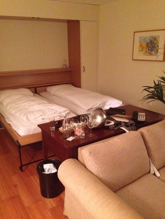 Suitenhotel Parco Paradiso : Die Suit Nr. 204 (425 CHF pro Nacht)