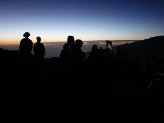 Astro La Palma: esperando en el mirador a que comience el Astrosafari