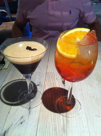 Rossopomodoro - Covent Garden: Espresso Martini & Aperol Spritz