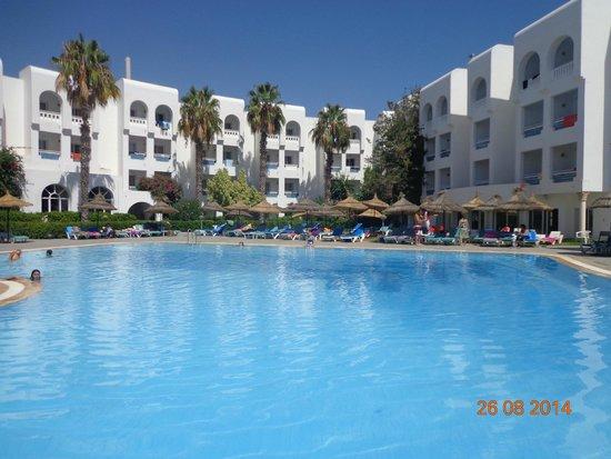 Hotel Menara: la piscine