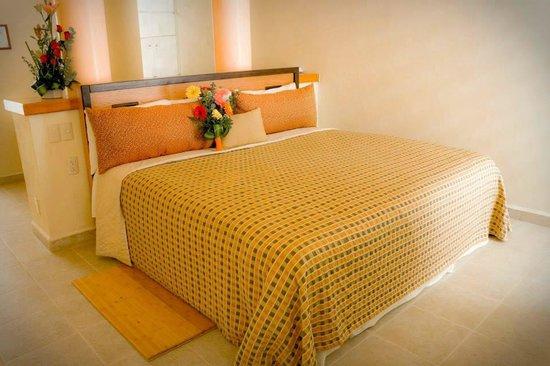 Flamingos Auto Hotel: INTERIOR HABITACION DE LUJO CON JACUZZI