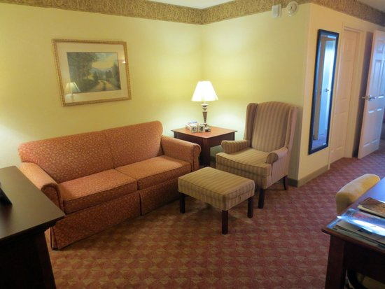 Country Inn & Suites By Carlson, Bentonville South: Living room