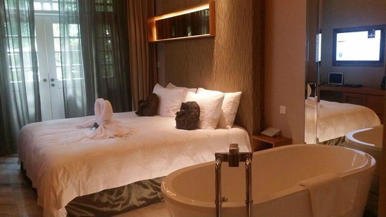 Hotel Fort Canning : Deluxe Garden Room Layout