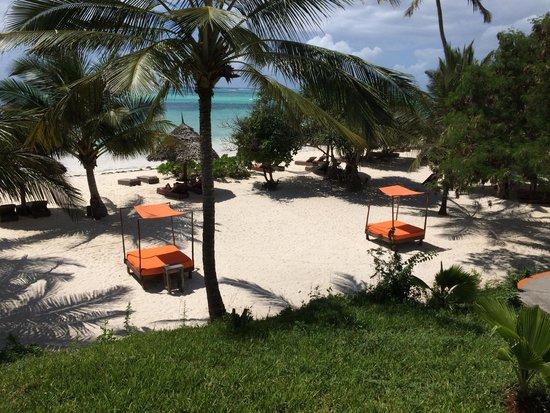Melia Zanzibar: La plage