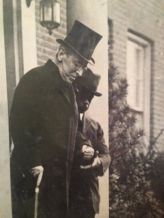 The President Woodrow Wilson House: With his valet.