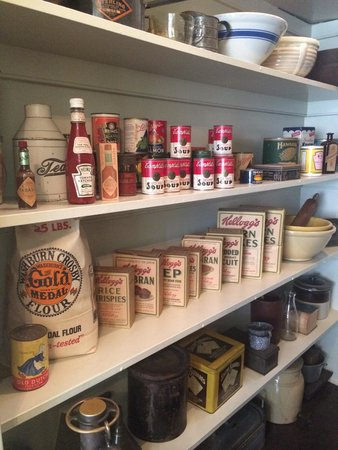 The President Woodrow Wilson House: His pantry