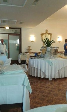 Hotel Regina Cristina : Dining romm